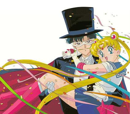 Sailor Moon and Darien :)