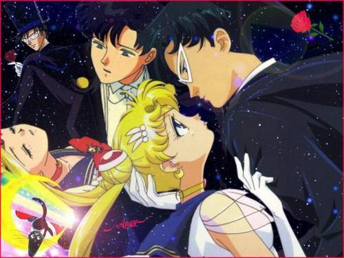 Sailor Moon and Darien :)