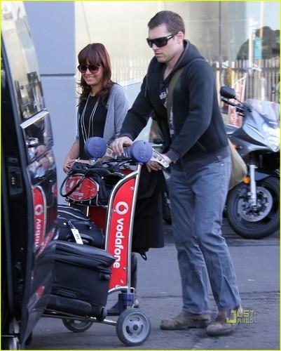 Sam & Natalie Mark in Sydney - March 14