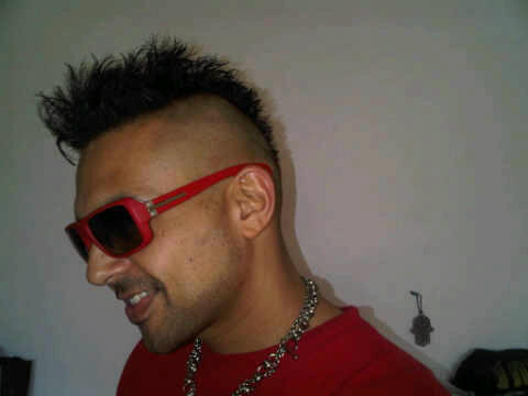 Sean Paul New Hair Style
