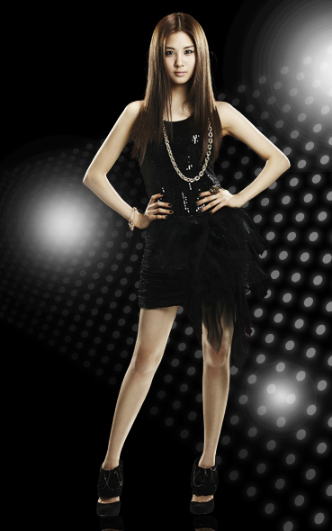"SeoHyun ""Run Devil Run"" Official Photos - Girls 369x590"