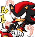 Shoes? - shadow-the-hedgehog photo