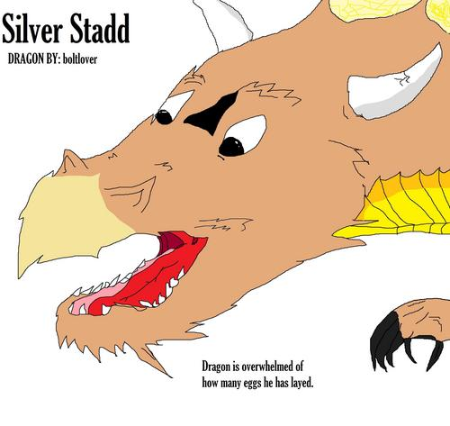Silver Stadd Dragon
