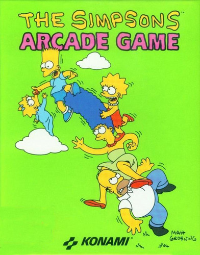 Simpsons Arcade Game Cover