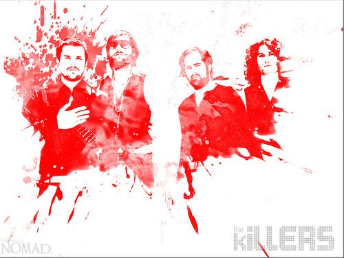 The Killers red splatter