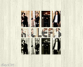 The Killers woodwork wallpaper - the-killers wallpaper