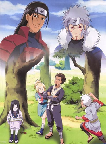 The legendary sannin, Sarutobi, Shodaime & Nidaime