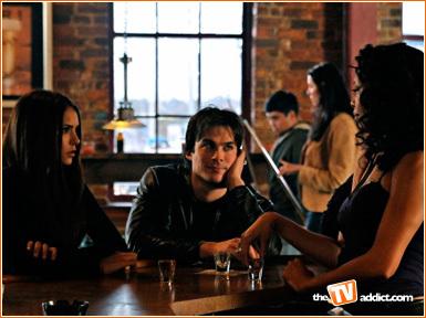 Vampire Diaries – Fernsehserie Hintergrund entitled The vampire diaries