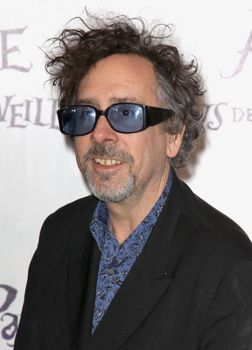 Tim Burton @ the French Premiere of 'Alice In Wonderland'