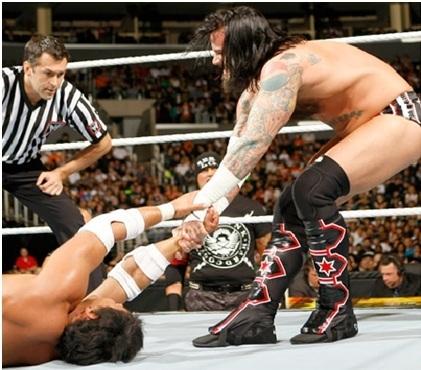 CM Punk & Justin Gabriel