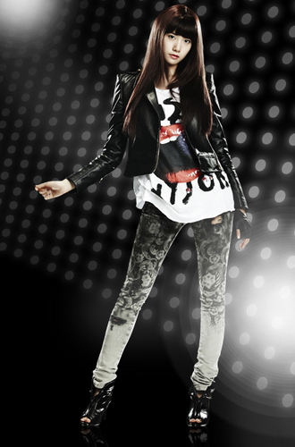 "YoonA ""Run Devil Run"" Official Fotos"