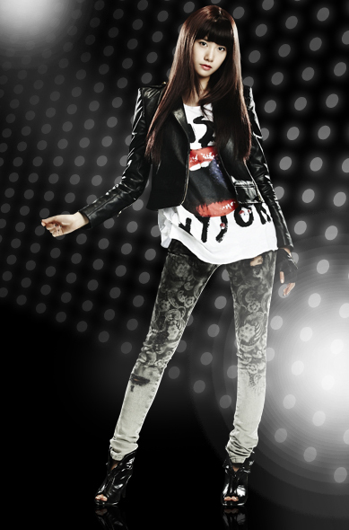 "YoonA ""Run Devil Run"" Official Photos - Girls 389x590"