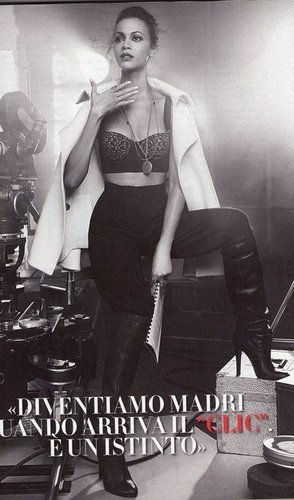 Zoe Saldana | Vanity Fair Italy Scans