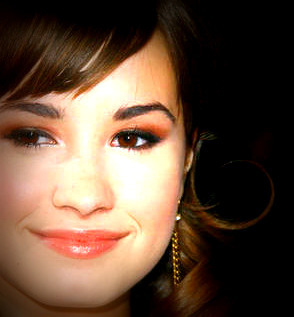 Polyvore wallpaper called demi lovato -