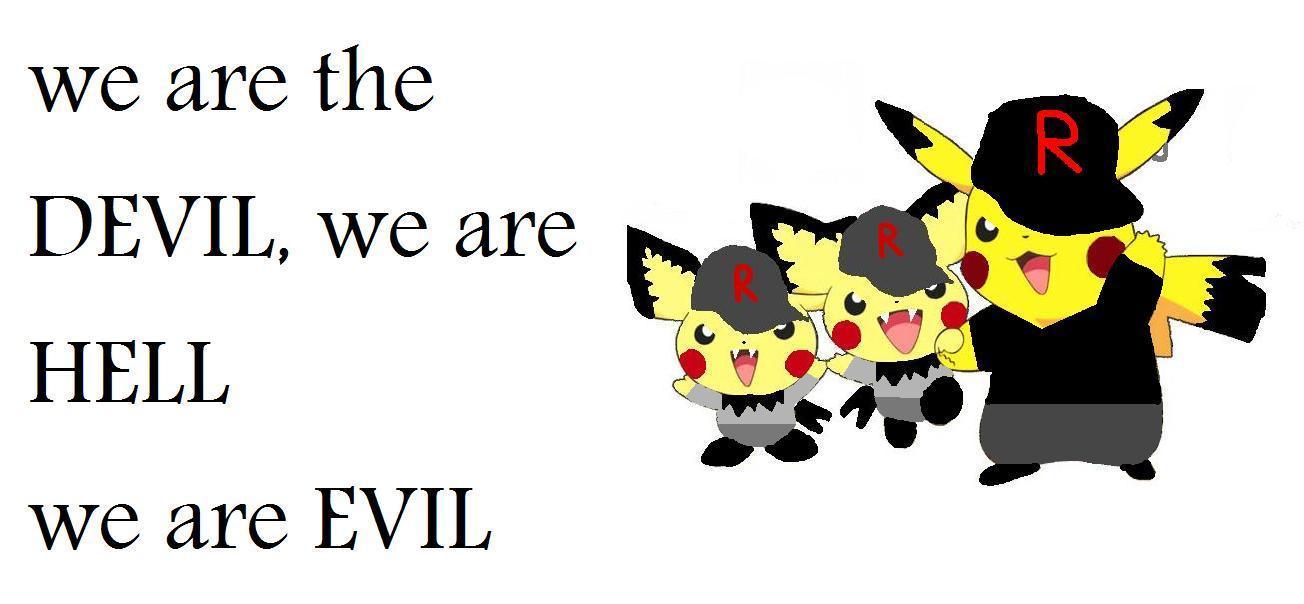 evil pikachu wallpaper - photo #27