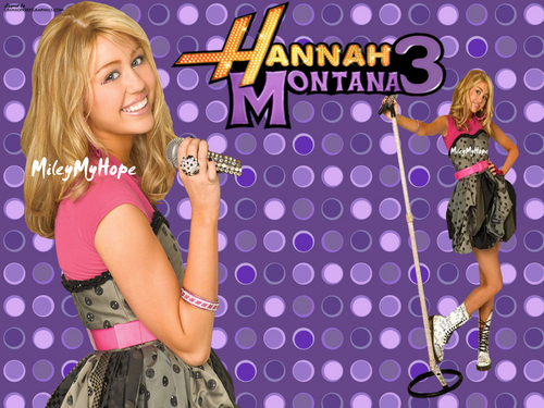 Hannah Montana wallpaper entitled hannah MONtanA pics by my sweet sister-pallavi(peak)