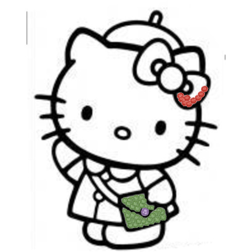 Polyvore wallpaper called hello kitty