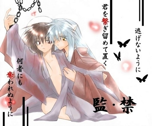 Inuyasha and kagome l'amour slave
