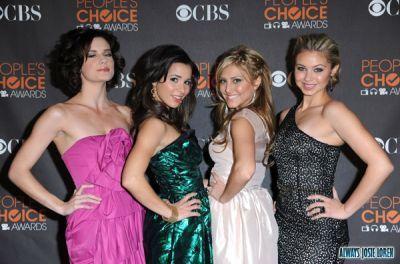 miobi girls at the People Choice's Awards