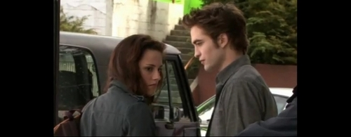 new moon - Behind The Scenes | Screencaps