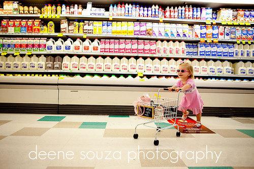 次 time あなた can ask her to shop.