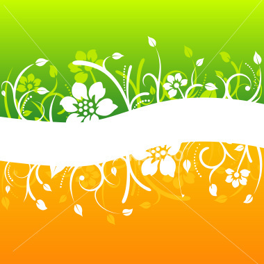 オレンジ and green