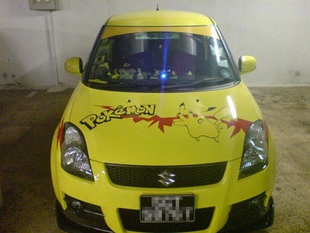 pikachu car 3