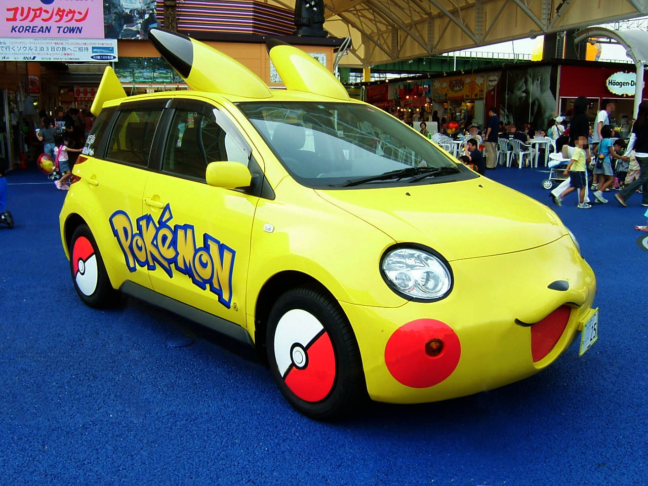pikachu car two