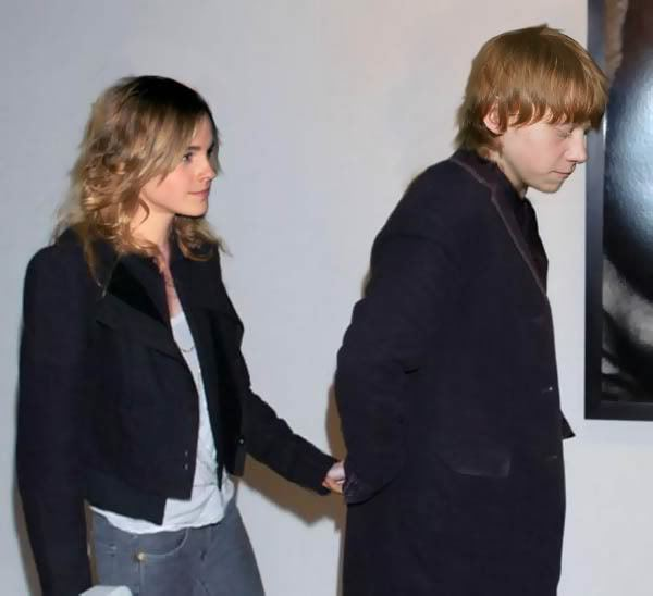 rupert grint and emma watson are they dating