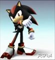 shadow in ssbb - shadow-the-hedgehog photo