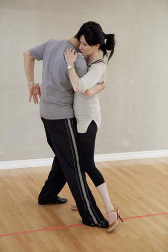 shannen- DANCING WITH THE STARS Rehearsal