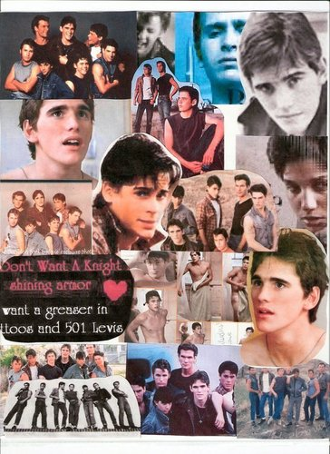 the outsiders collage