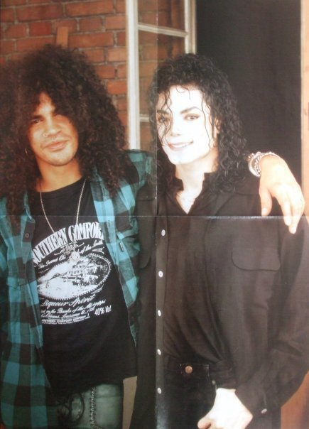 with slash... - michael-jackson photo
