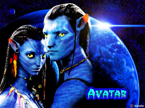 Avatar wallpaper entitled *Jake & Neytiri*