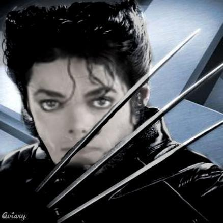 """Wolverine"" - michael-jackson fan art"