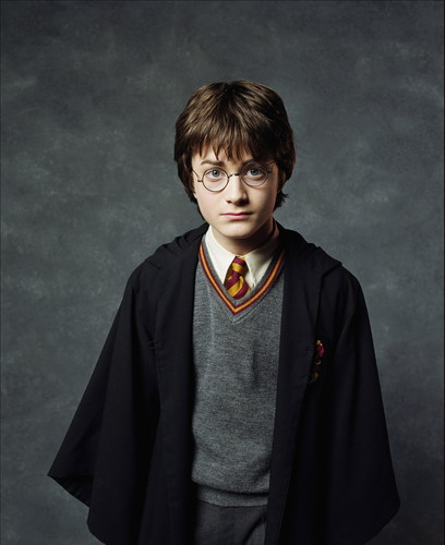 Daniel Radcliffe wallpaper called 2001. Harry Potter and the Sorcerer's Stone  Promotional Shoot (HQ)