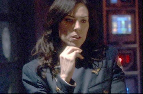 Michelle Forbes images Admiral Cain - BSG: Razor wallpaper ... Michelle Forbes Battlestar Galactica