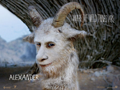 Where The Wild Things Are 바탕화면 entitled Alexander