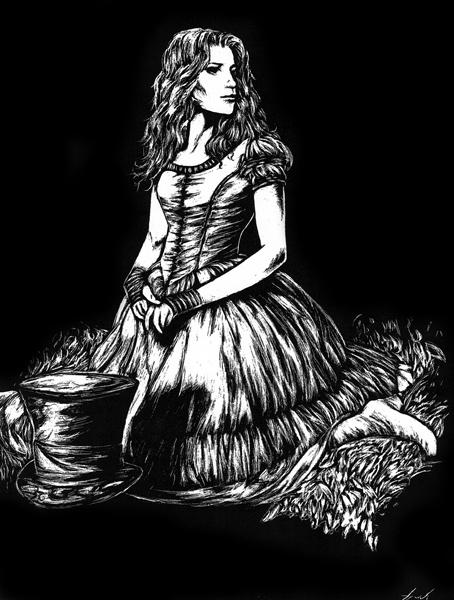 Alice in Underland người hâm mộ Art