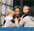 Angelina Jolie: Bayi on the Balcony!