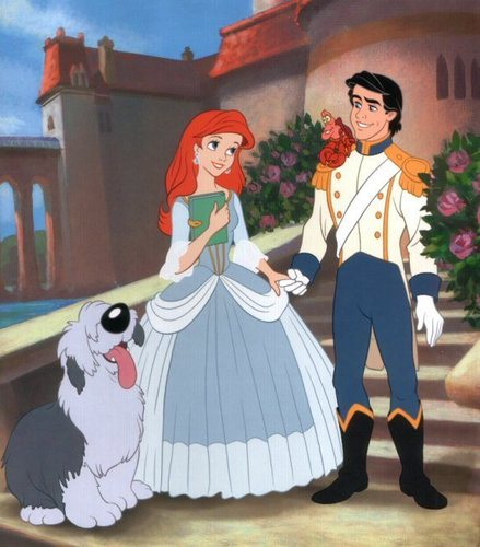Disney Couples wallpaper entitled Ariel and Eric