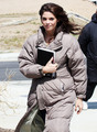 "Ashley Greene on the set of her new movie ""The Apparition"" - twilight-series photo"