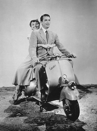 Audrey and Gregory Peck