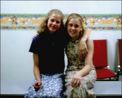 Avril and her sister, Michelle (as kids!)
