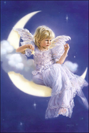 bambini dolci wallpaper titled Baby Angel