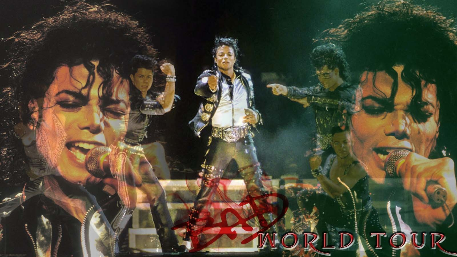 Bad Worl Tour - michael-jackson wallpaper