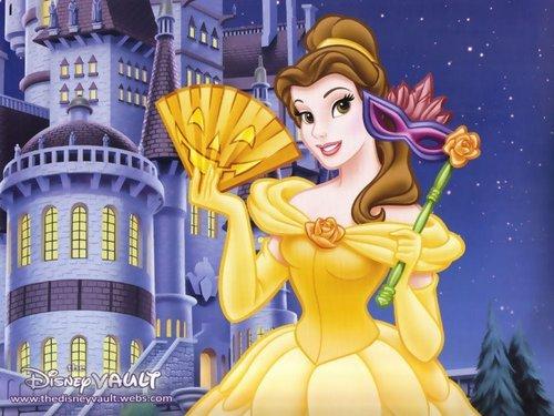 Disney Princess achtergrond entitled Belle