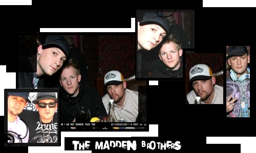 Benji and Joel Madden <3