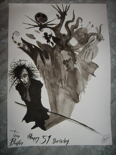 Tim Burton wallpaper titled Birthday Gift