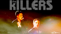 Brandon Flowers Killers logo wallpaper